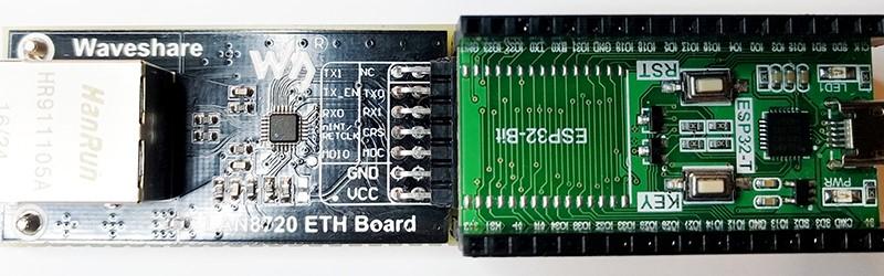 Habilitación de Ethernet en el ESP32