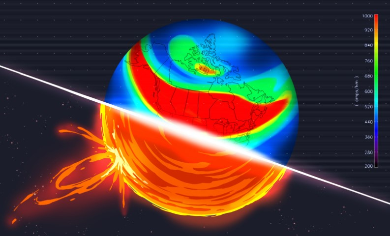 Luces en Quebec: la tormenta geomagnética de 1989