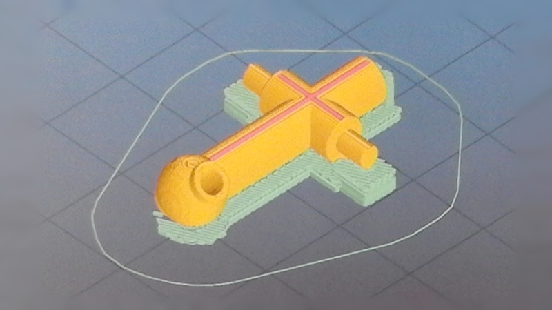 Impresión 3D La pieza blasfema del helicóptero conocida como Jesus Nut