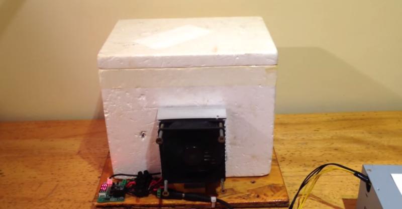 ¿Está construyendo su propio mini refrigerador?