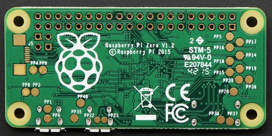 Intercambio de pines GPIO en el Pi Zero por audio