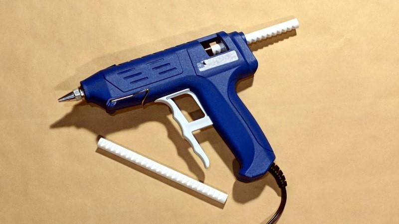 Impresión 3D: barras de impresión para pistola de pegamento en caliente PLA