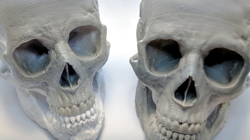 Impresión 3D: pruebas de suavizado de impresión con resina UV