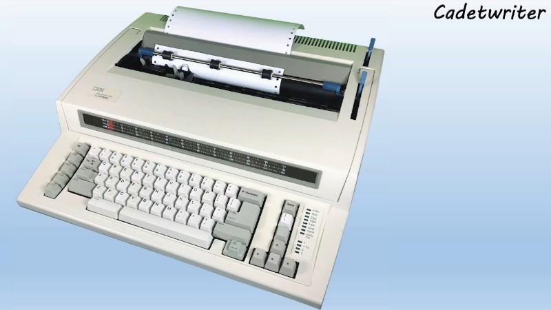 La placa de actualización transforma la máquina de escribir en teletipo