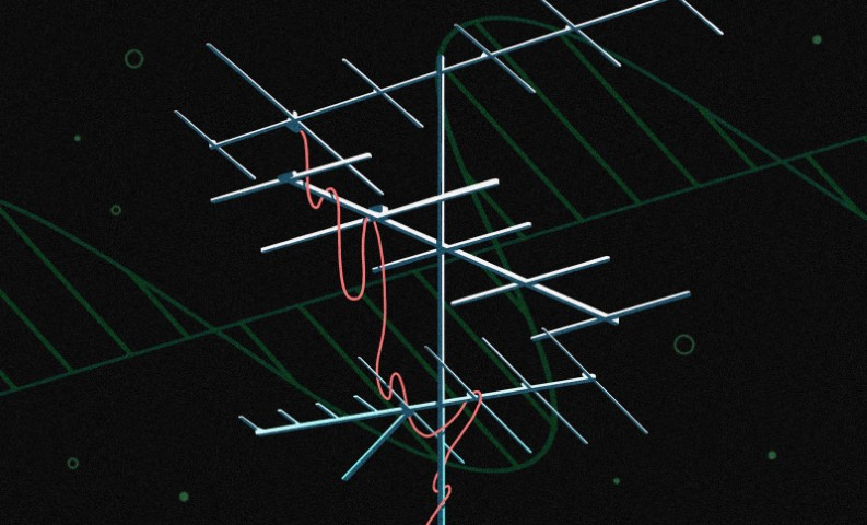 En el punto: la antena Yagi