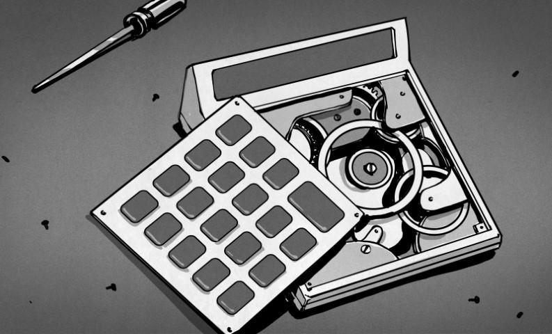 Dentro de las calculadoras mecánicas