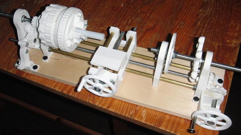 Mini tornillo de impresión 3d