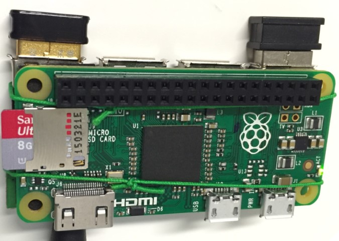 4 puertos USB, Raspberry Pi Zero Piggy-Back Hack