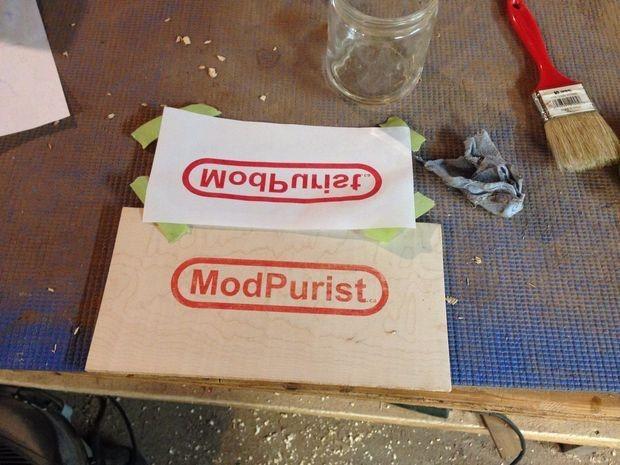 Uso de acetona para crear transferencias de impresión