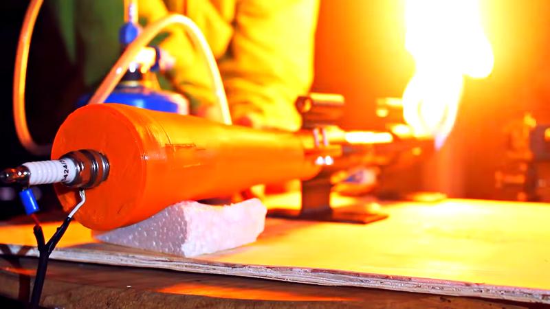Pulsejet impreso en 3D utiliza válvula Tesla
