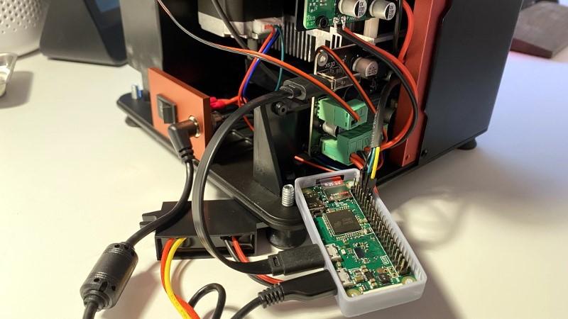 Adición de control remoto a Elegoo Mars Pro