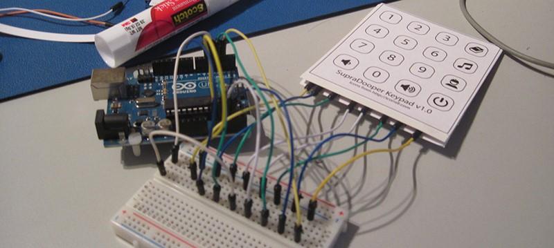 Hacer teclados de membrana desde cero