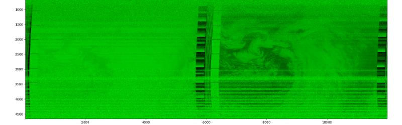 Descifrar imágenes de satélite NOAA en Python
