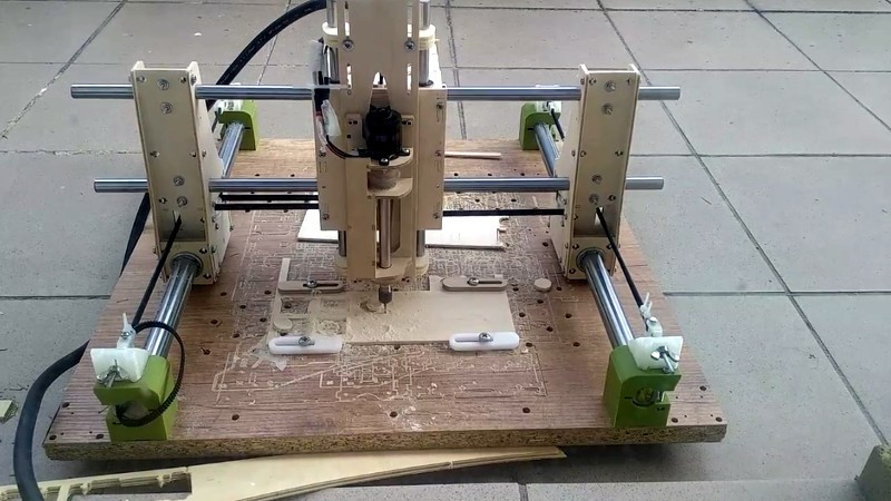 Control CNC directo con Raspberry Pi