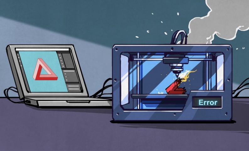 Impresión 3D: cuando un archivo STL no es correcto