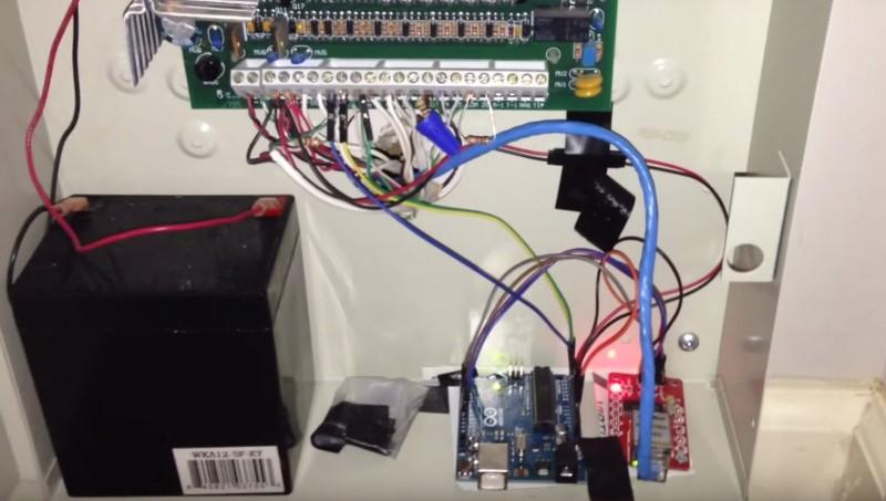 Actualice su sistema de alarma con Arduino