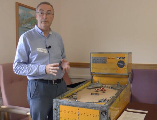 Increíble máquina de pinball completamente funcional antes de conocer su destino