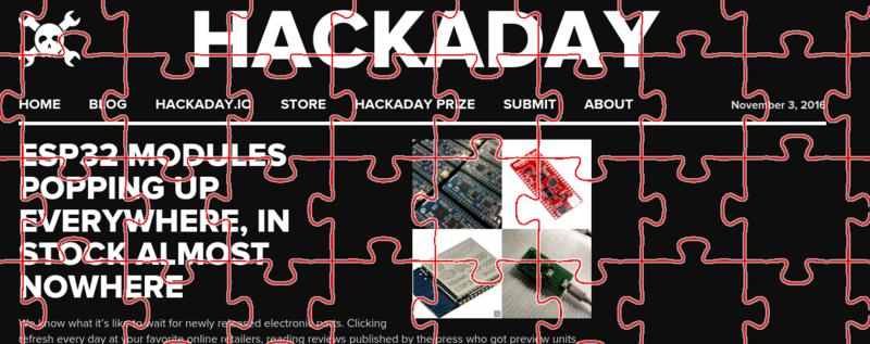 Hackit: corta con láser tu propio rompecabezas