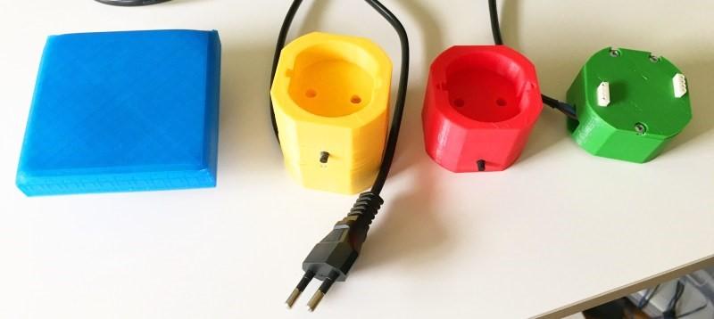 ESP8266 en cada interruptor de luz y salida