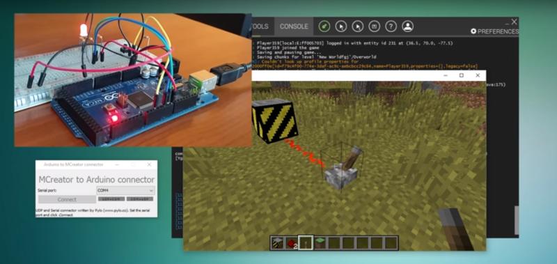 Controla el mundo real con el mod de Minecraft habilitado para Arduino
