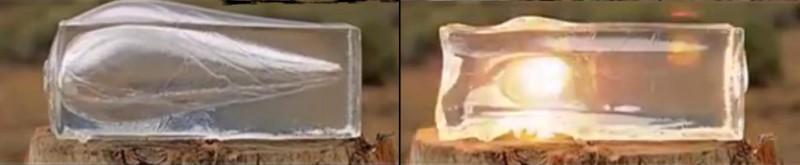 Mire el efecto diesel en gelatina balística