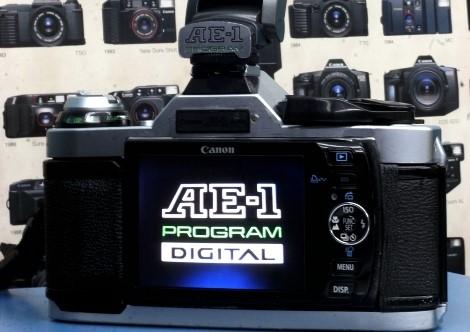 La Canon AE-1 clásica obtiene una actualización digital