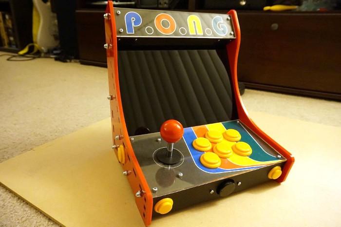 Bartop Arcade RetroPie Powered Corte por láser