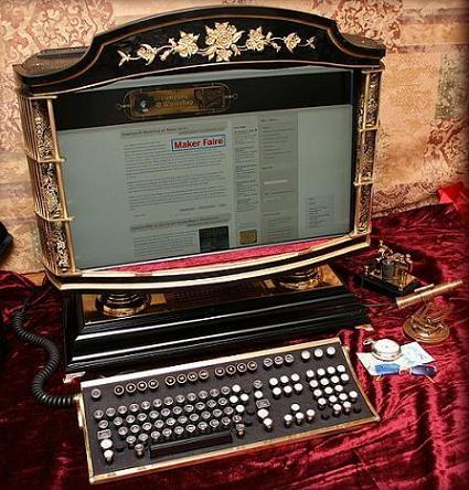 Computadora todo en uno del siglo XIX