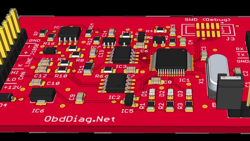 Adaptador OBD-II de código abierto