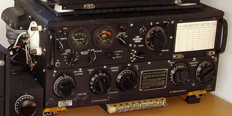 Resurrección: puesta en servicio del equipo de radio de la Segunda Guerra Mundial