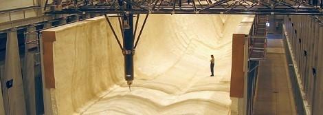 La máquina CNC más grande puede construir una casa