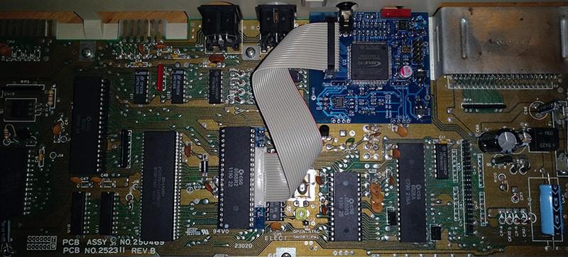 Video de componentes para el Commodore 64
