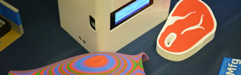 Paleta de mosaico: Impresión 3D multicolor y multicapa con un solo extractor