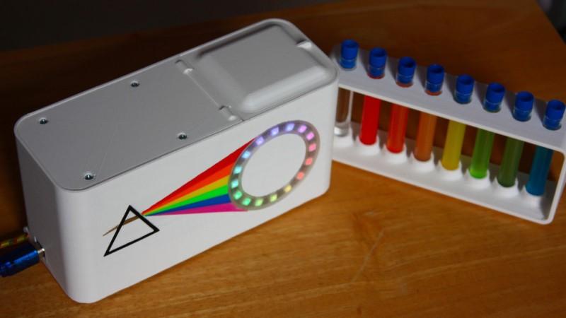 La plataforma Arduino realiza espectrofotometría