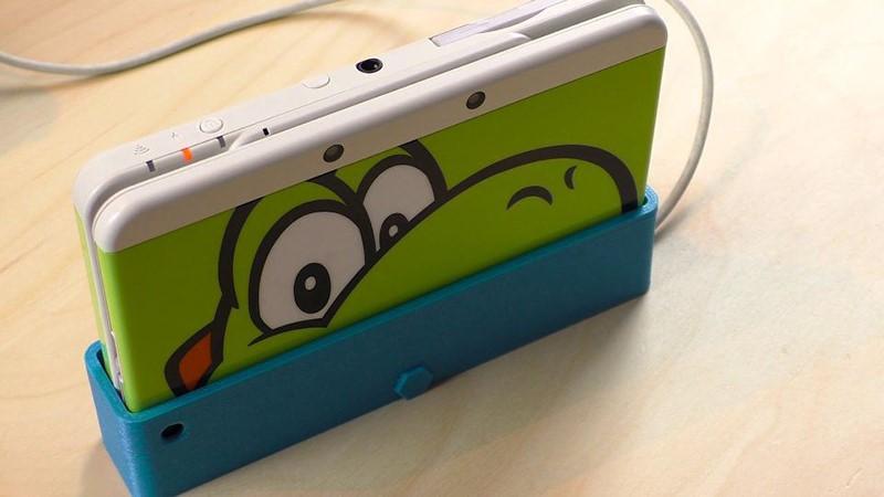 Impresión 3D de este muelle de carga para su 3DS