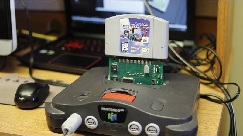 Nintendo 64 Homebrew a través de Game Shark