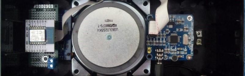 El receptor de radio por Internet basado en ESP8266 está lleno de funciones