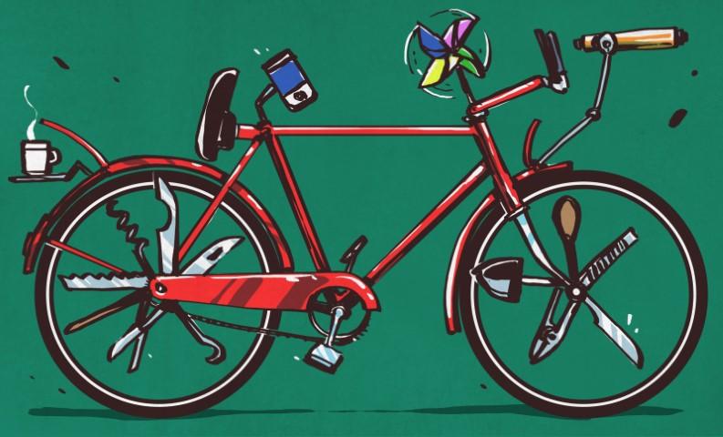 Hackear la humilde bicicleta deportiva