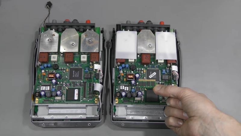 El módulo de memoria clonado corrige el osciloscopio roto