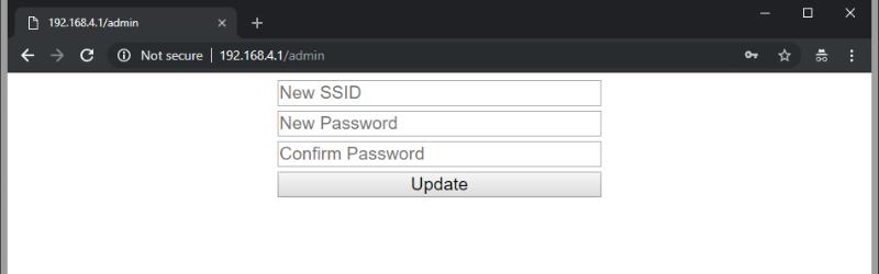 Configuración sencilla del punto de acceso en ESP8266