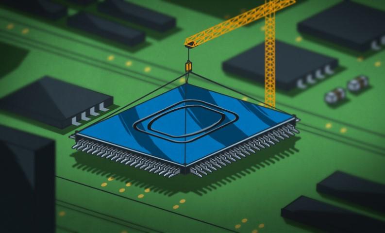 ¿Qué es el acoplamiento?  Los pasos hacia los circuitos integrados