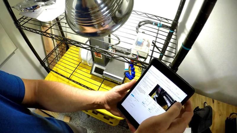 Incorporación de control de luz y potencia de impresora 3D a OctoPrint