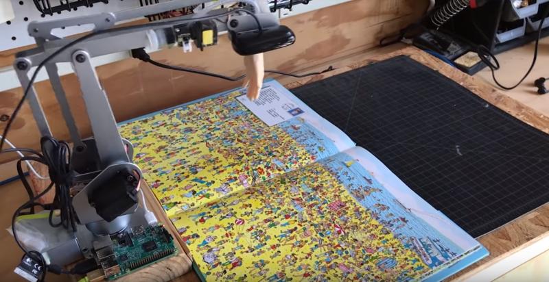 ¿Real o falso?  Robot usa inteligencia artificial para encontrar a Wally