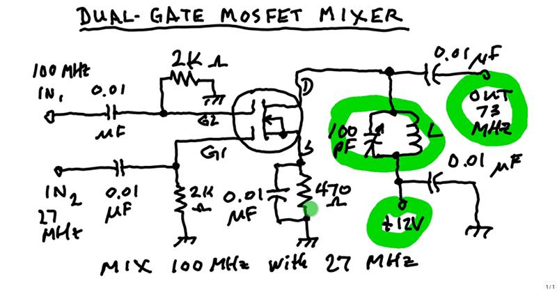 Entender el mezclador MOSFET