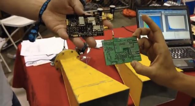 El primer escudo de radar Arduino
